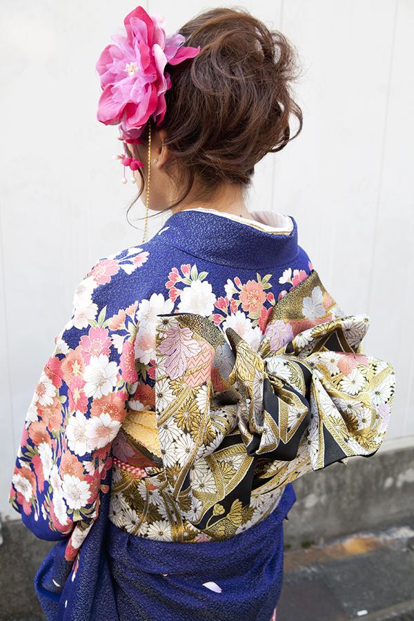 No.188大阪ガール11 振袖スナップ写真4