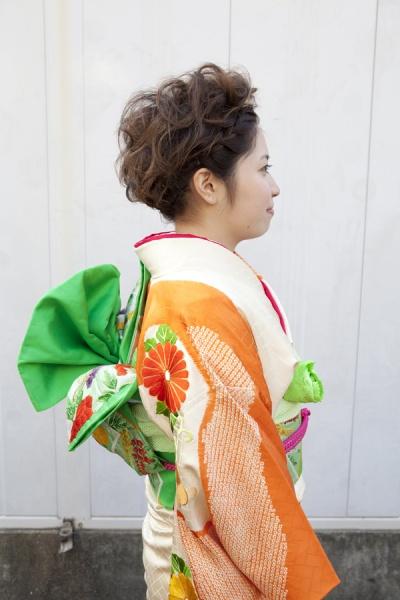 No.189大阪ガール12 振袖スナップ写真3
