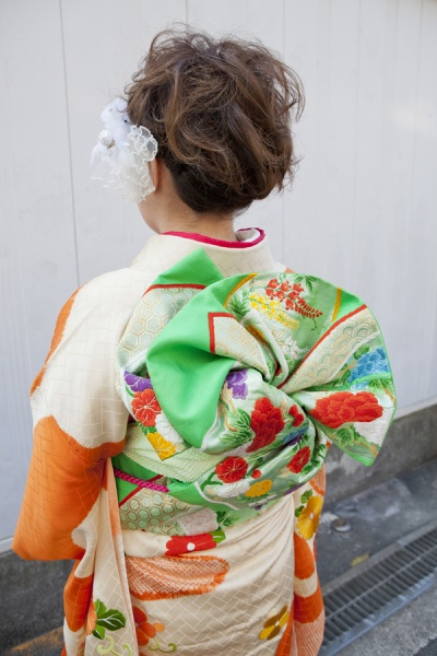 No.189大阪ガール12 振袖スナップ写真4