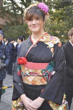 No.610 サラ 振袖スナップ写真1