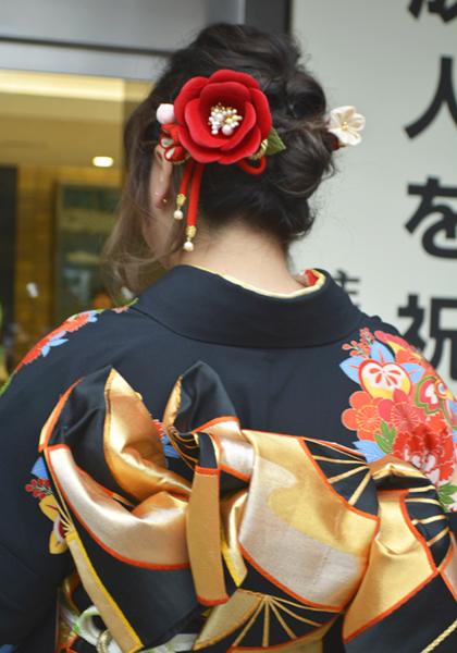 No.614 ちか 振袖スナップ写真3