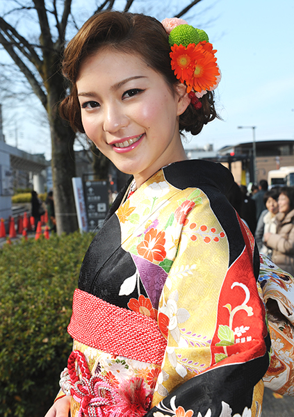 No.625 さき 振袖スナップ写真4