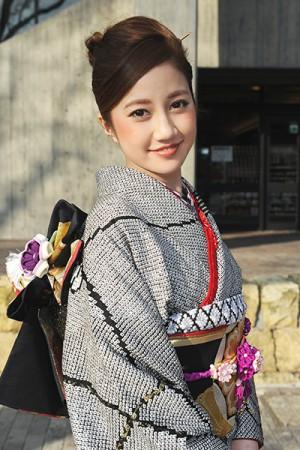 No.620 miyaka 振袖スナップ写真1