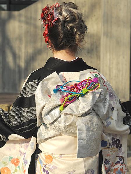 No.634 みずき 振袖スナップ写真3