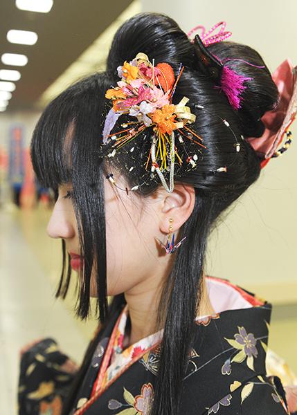No.644 坂本みろく 振袖スナップ写真4