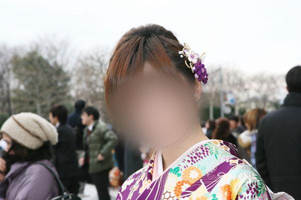 No.009みき 振袖スナップ写真3