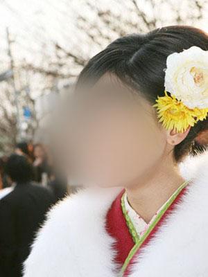 No.010ミキ 振袖スナップ写真1