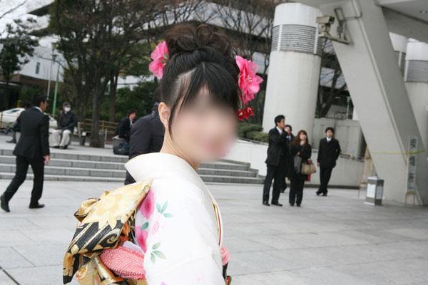 No.013ゆかり 振袖スナップ写真1