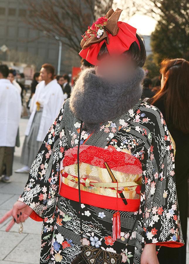 No.014ヨツモトマリエ 振袖スナップ写真1