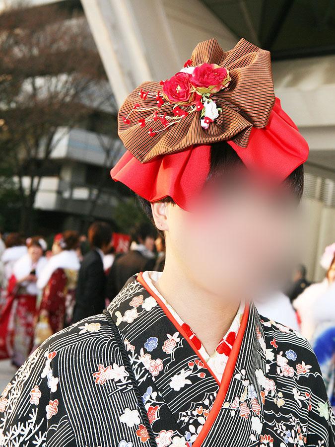 No.014ヨツモトマリエ 振袖スナップ写真2