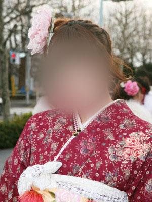 No.015レイチェル 振袖スナップ写真1