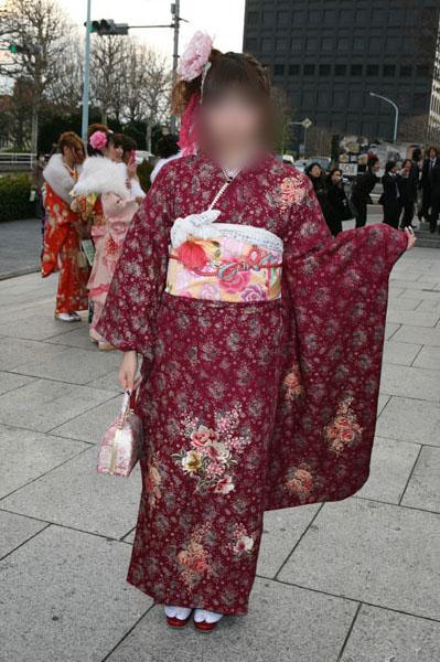 No.015レイチェル 振袖スナップ写真2