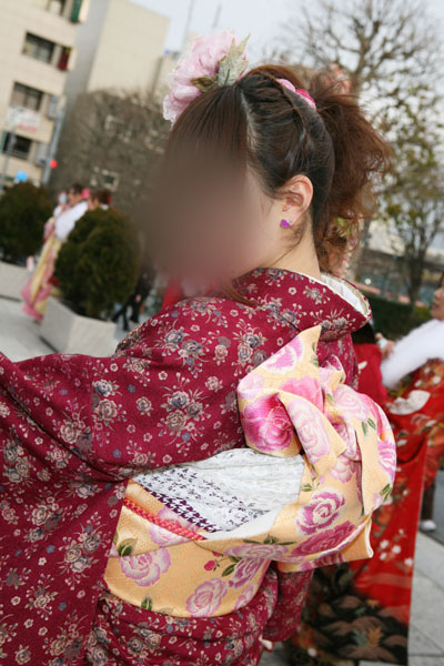 No.015レイチェル 振袖スナップ写真3