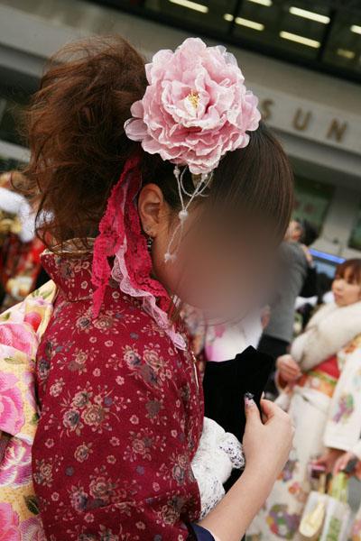 No.015レイチェル 振袖スナップ写真4