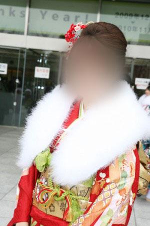 No.017杏子 振袖スナップ写真1