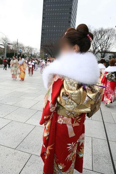No.017杏子 振袖スナップ写真4