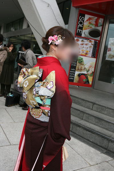 No.019小林 振袖スナップ写真4