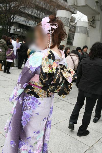 No.018三浦千尋 振袖スナップ写真4