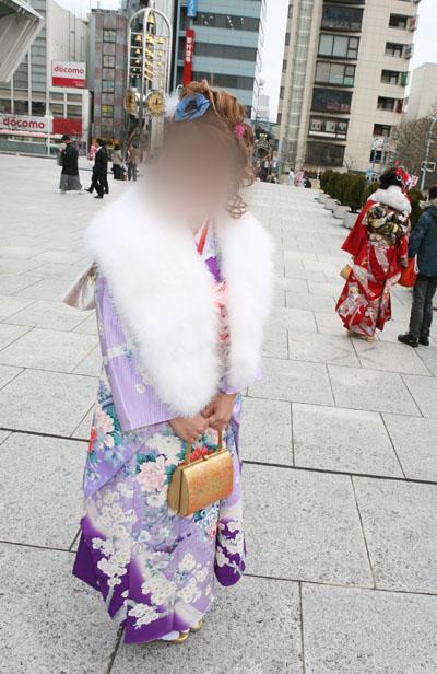 No.020振袖美女1 振袖スナップ写真2