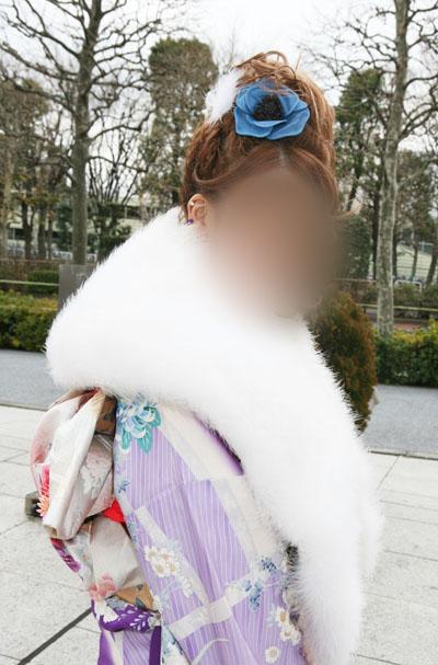 No.020振袖美女1 振袖スナップ写真4
