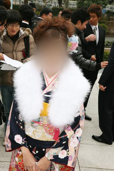 No.021真木理愛 振袖スナップ写真1