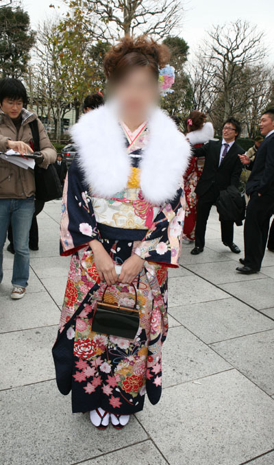 No.021真木理愛 振袖スナップ写真2