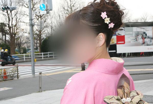 No.022都日安奈 振袖スナップ写真4
