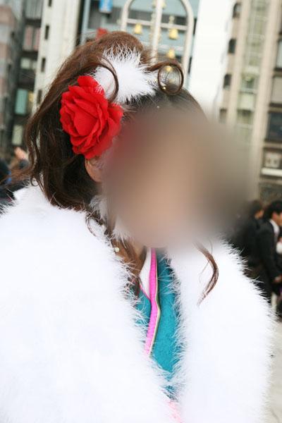 No.023茂木晴香 振袖スナップ写真1