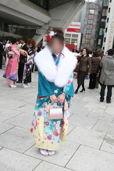 No.023茂木晴香 振袖スナップ写真2