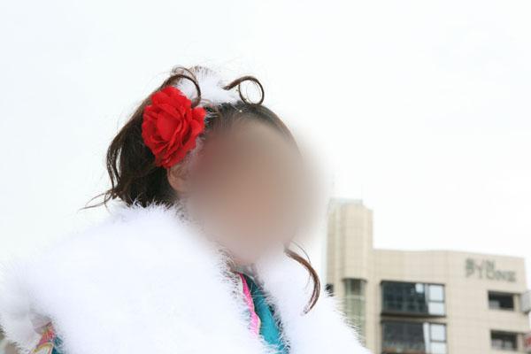 No.023茂木晴香 振袖スナップ写真3