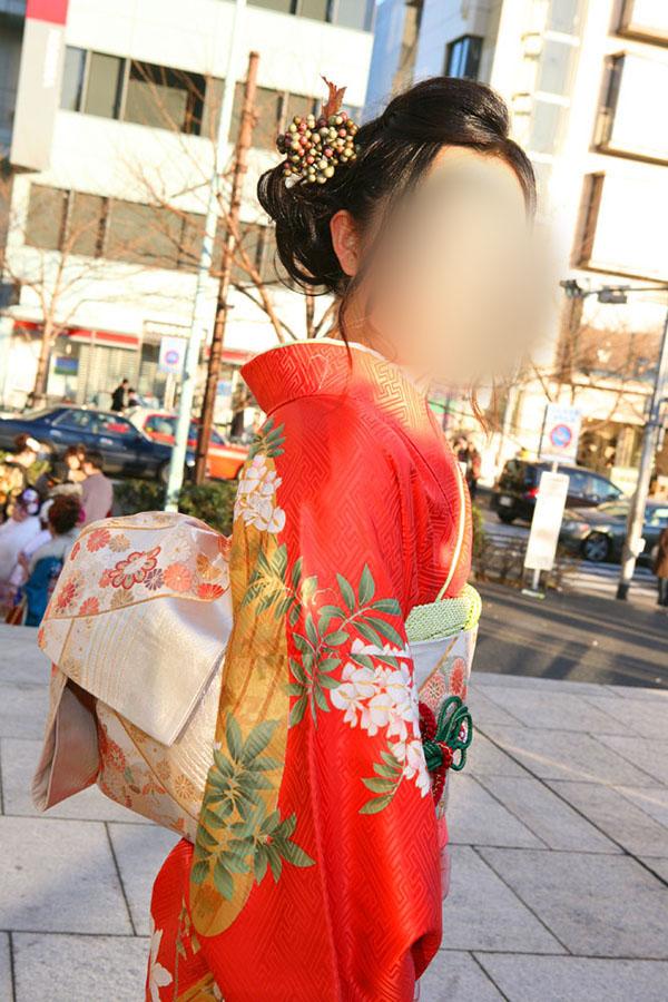 No.032エリコ 振袖スナップ写真1