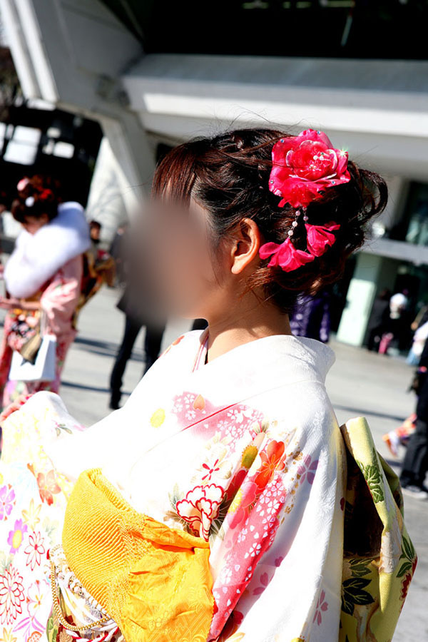 No.042なっこ 振袖スナップ写真3