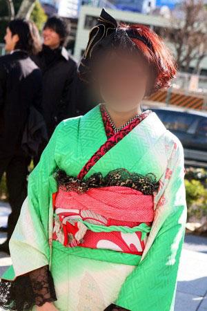 No.043なっちゃん 振袖スナップ写真1