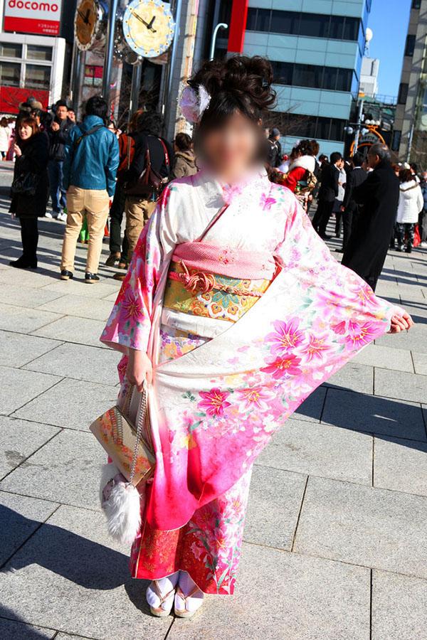 No.051みどり 振袖スナップ写真2