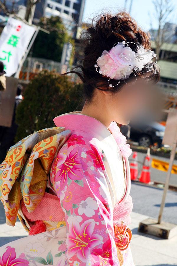 No.051みどり 振袖スナップ写真3