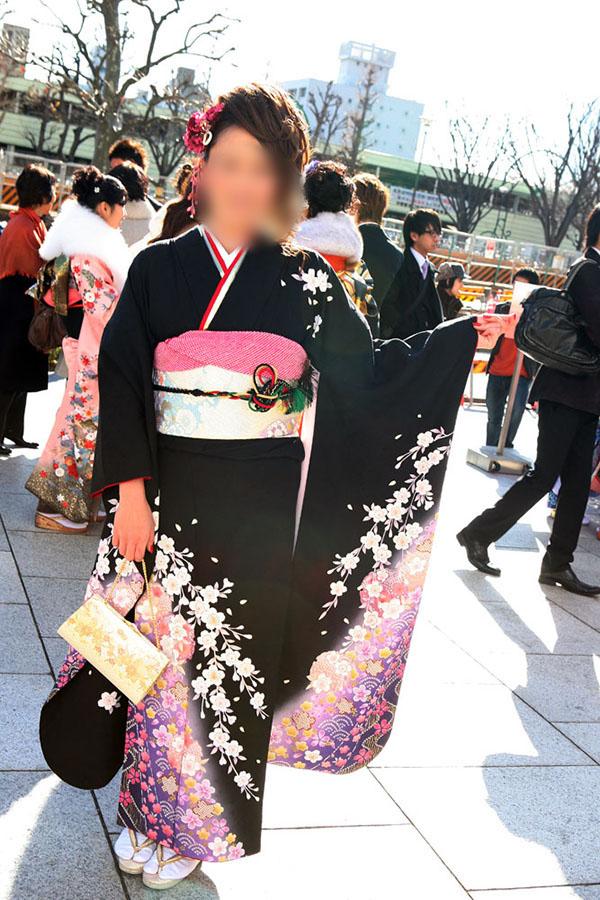 No.052ミナコ 振袖スナップ写真2