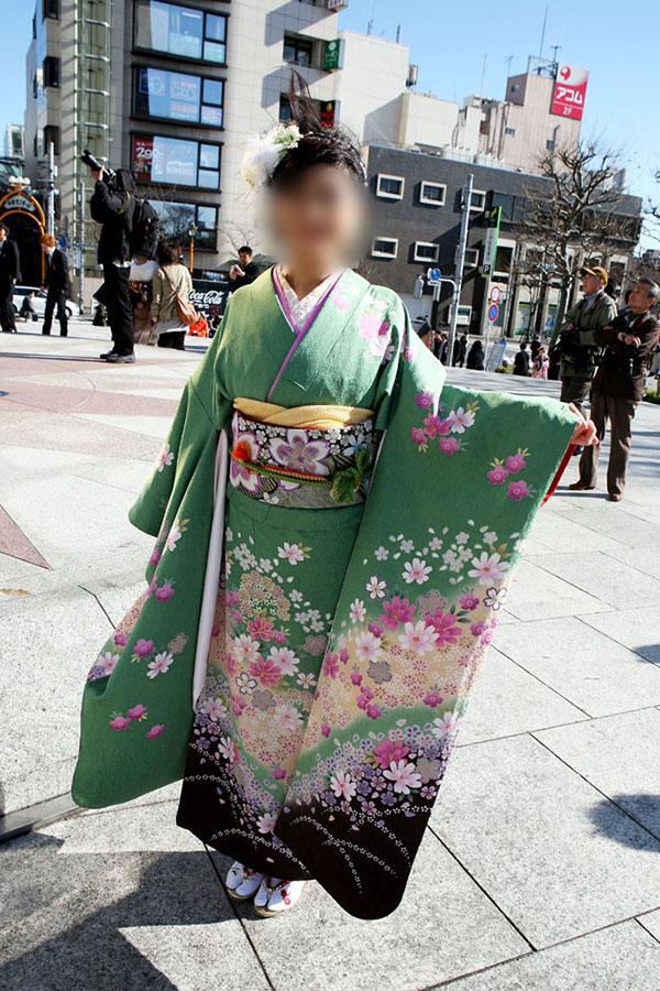 No.054みんた 振袖スナップ写真2