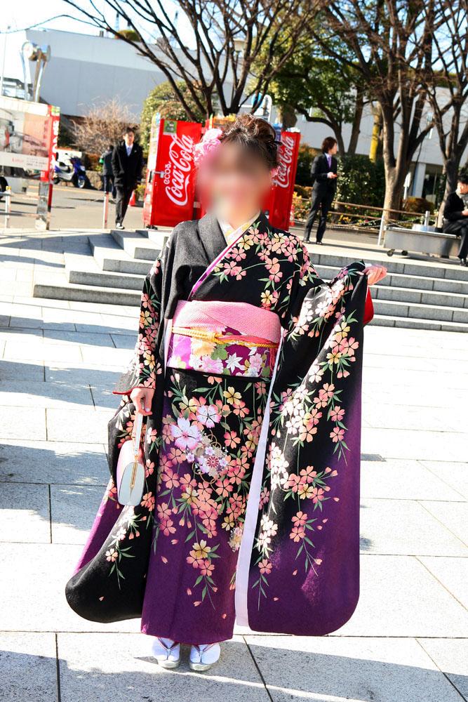 No.058ゆき 振袖スナップ写真2