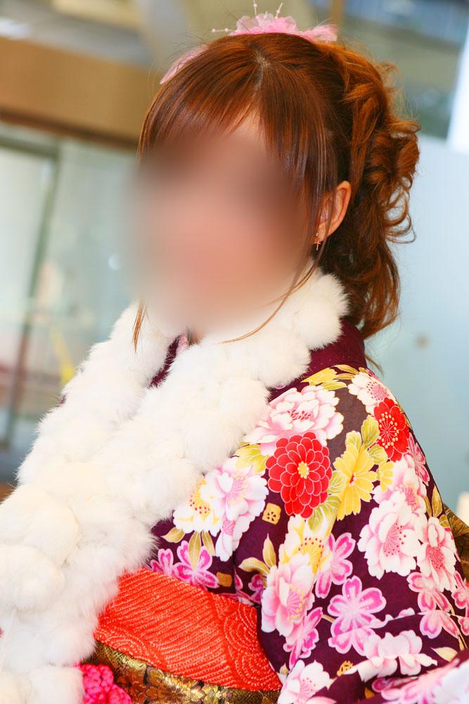 No.060らっきー 振袖スナップ写真3