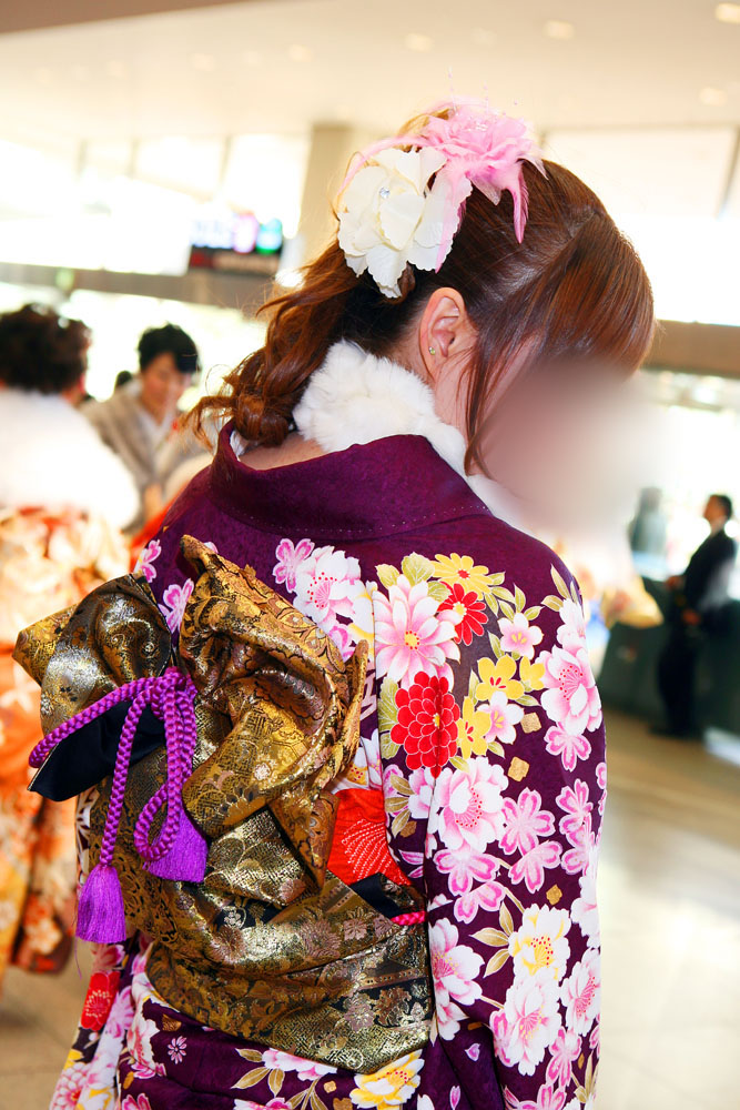 No.060らっきー 振袖スナップ写真4