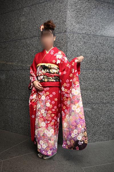 No.063KAZUMI 振袖スナップ写真2