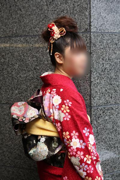No.063KAZUMI 振袖スナップ写真3
