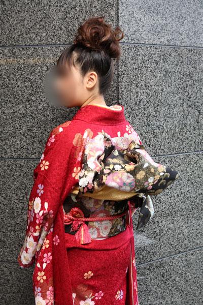 No.063KAZUMI 振袖スナップ写真4