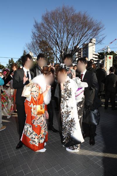 No.066あや 振袖スナップ写真4