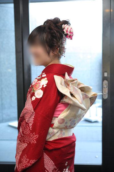 No.075さっちゃん 振袖スナップ写真3