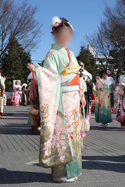 No.076さや 振袖スナップ写真2