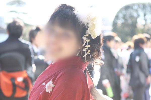 No.080なこ 振袖スナップ写真1
