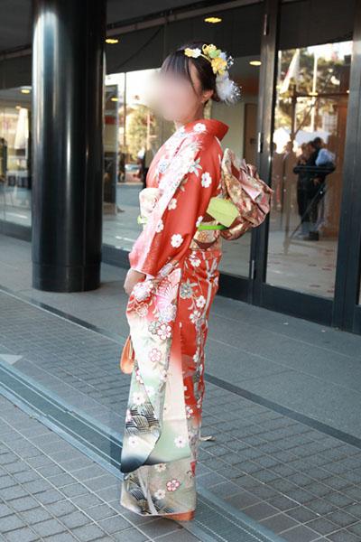 No.085ほっけ 振袖スナップ写真2