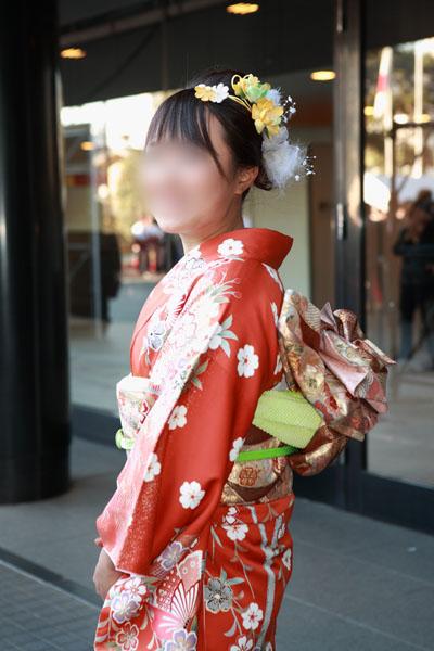 No.085ほっけ 振袖スナップ写真4