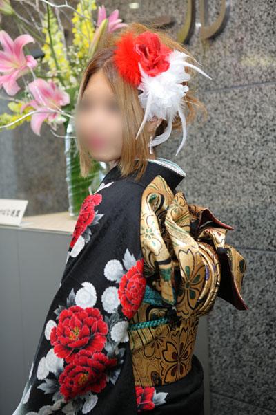 No.087まりりん 振袖スナップ写真3
